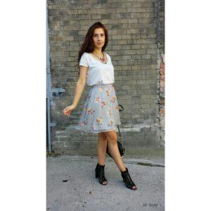 Z sukienki w spódnicę