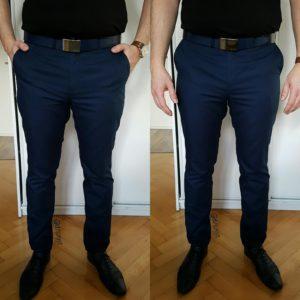 Pierwsze spodnie męskie