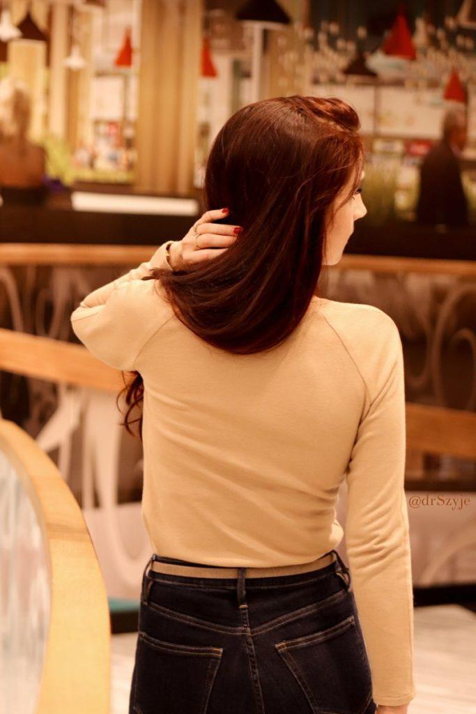 cielista bluzka